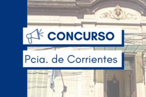CONCURSO CORRIENTES