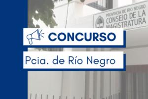 CONCURSO RÍO NEGRO