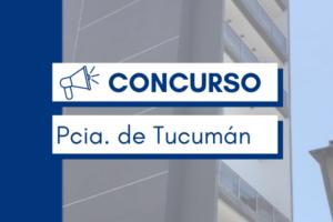 CONCURSO TUCUMÁN